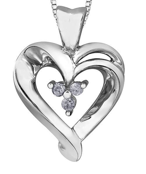 502x600 Diamond Heart Pendant