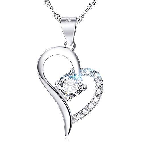 500x500 Diamonds Heart Necklace