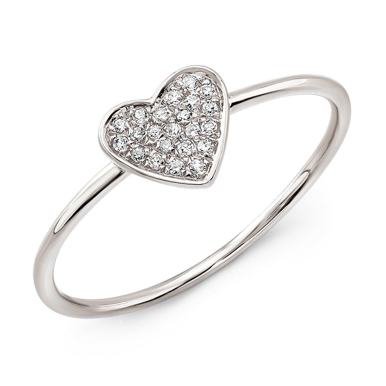 1291x1291 Pave Diamond Heart Ring Moondance Jewelry