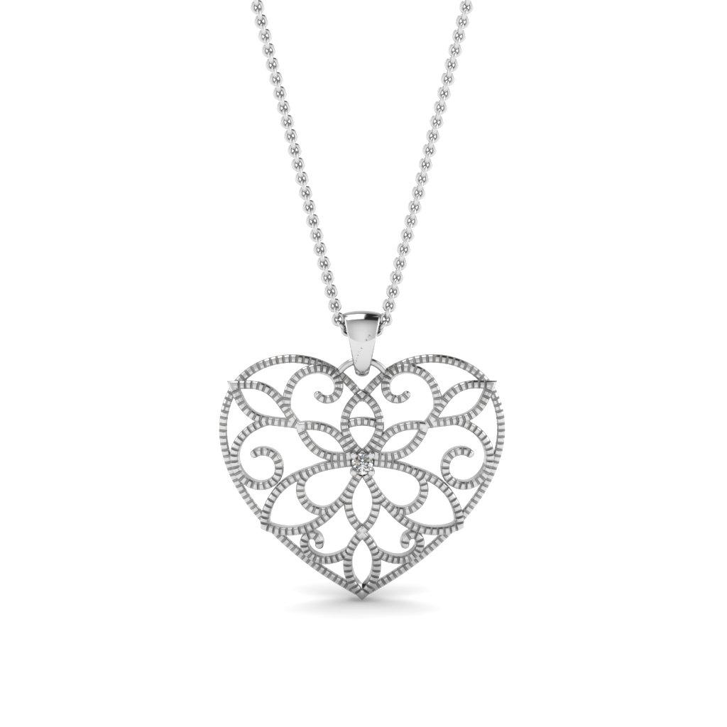 1024x1024 Shop For Custom Designed Heart Pendants Fascinating Diamonds