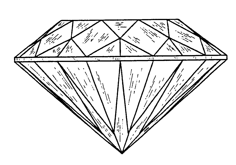 1212x847 Diamond 3d Drawing Photo 3d Diamond Drawing How To Draw A 3d