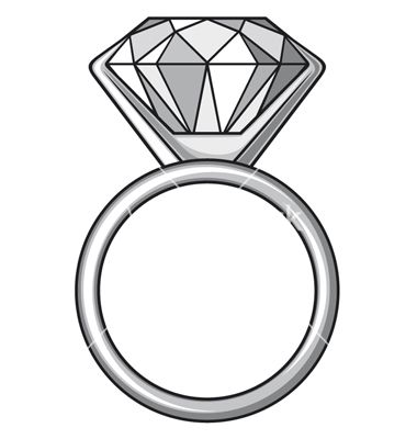 Diamond Rings Drawing