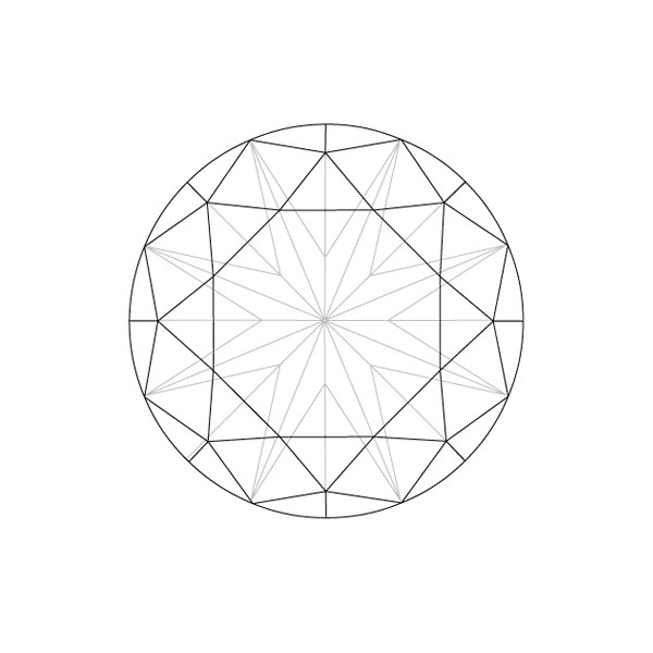 Diamond Shape Drawing