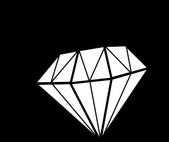 333x279 Diamond Shape Coloring Many Interesting Cliparts Diamonds Clipart