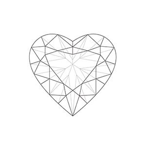 300x300 Heart Shaped Diamonds Diamond Information Centre, Online