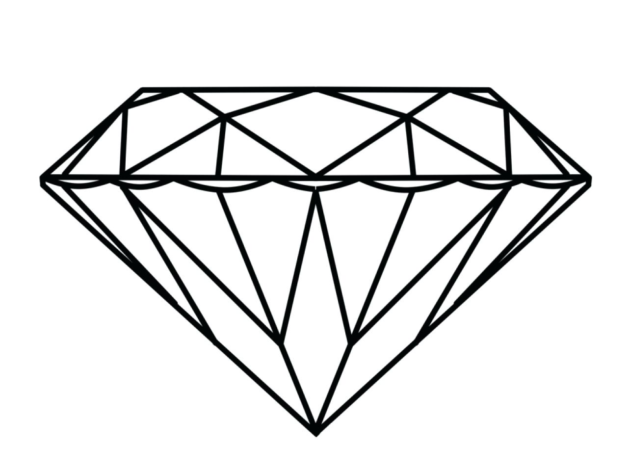 1280x960 Coloring Diamond Shape Coloring Page Pages Free. Diamond Shape