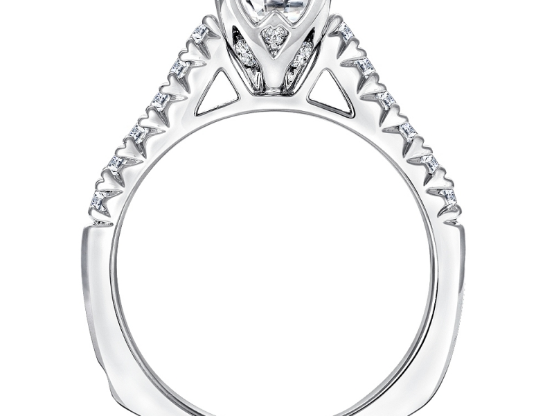 800x600 Raised Shoulder Diamond Ring Mounting Gr9443wd Engagement Rings