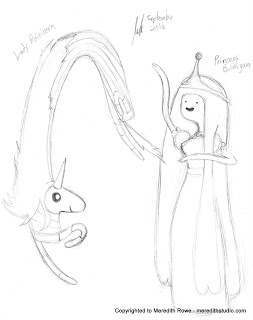 253x320 Sketch Diary Adventure Time Fanart
