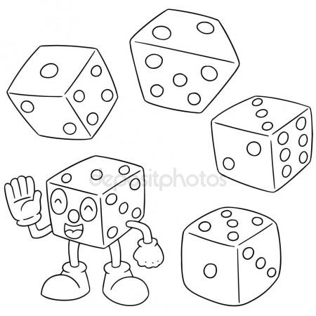 Dice Drawing at GetDrawings com   Free for personal use Dice