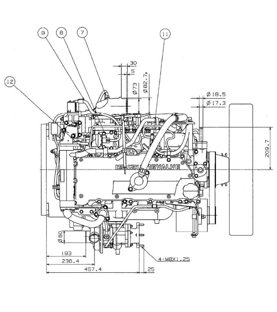 Diesel Engine Drawing At Getdrawings Com Free For