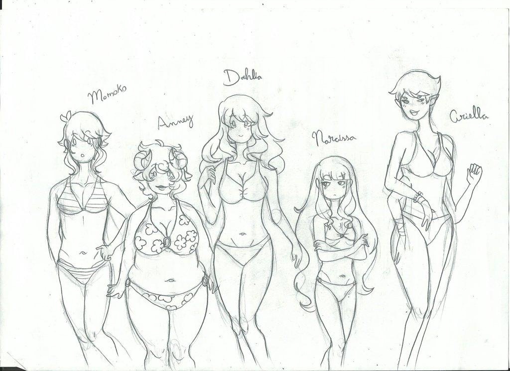 1024x745 Harvest Kingdom Girls Body Types By Kakunabe