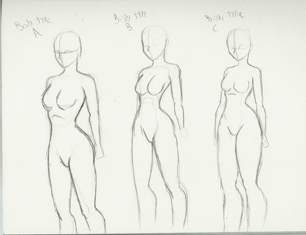 1019x784 Body Types And There Info Type A Acurate A Realistic Portioned