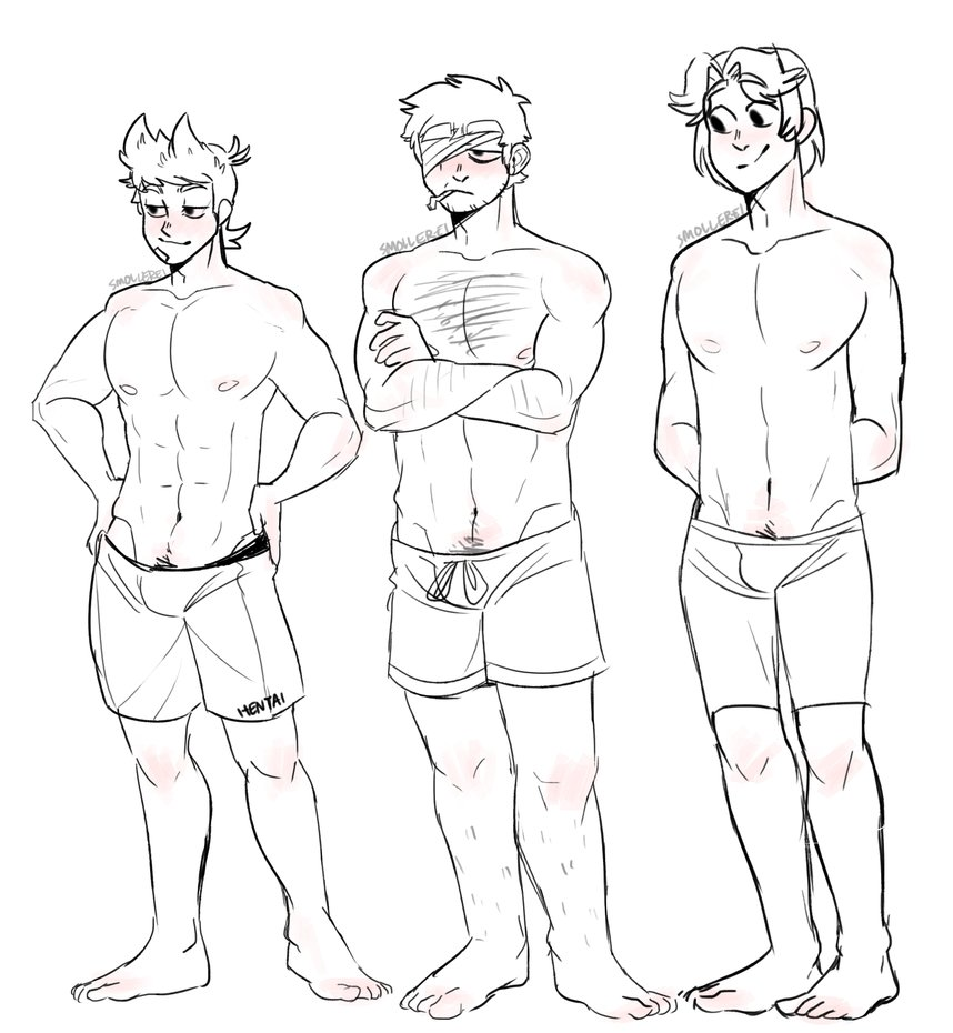 858x930 Different Body Types~ (Red Army) By Smollereii