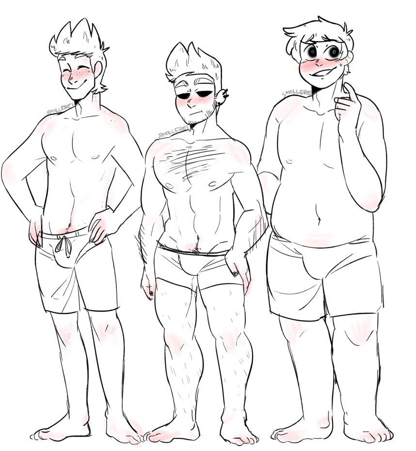 858x930 Different Body Types~ (Redraw) By Smollereii
