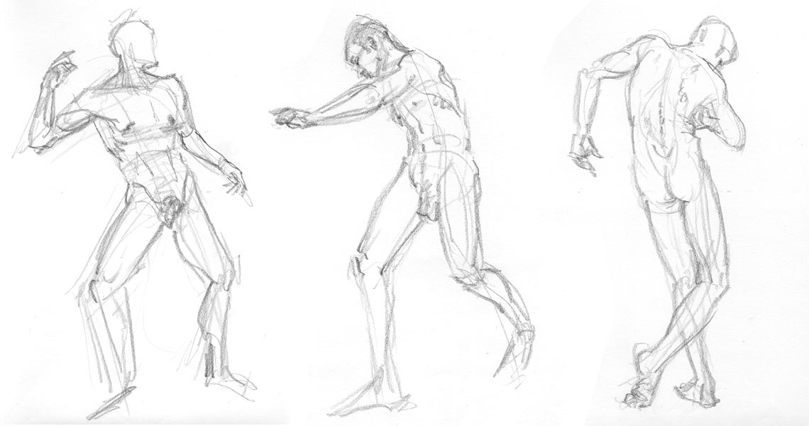 1140x600 Male Body Types Drawing