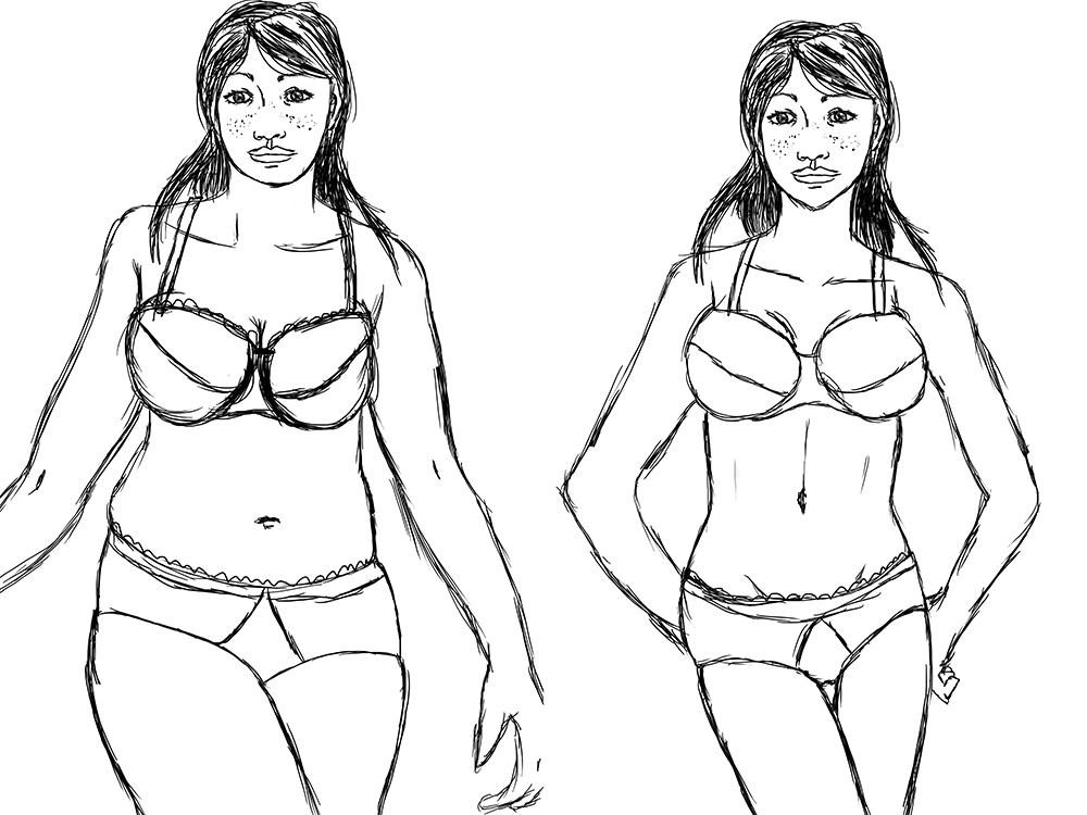 1000x750 Body Types And Body Image A Stroke Of Madness