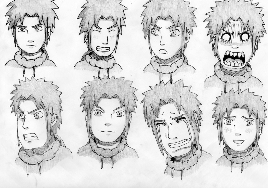 1068x747 Character Facial Expressions By Geijutsucentral
