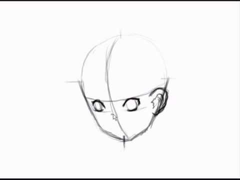 480x360 How To Draw Manga Head 34 View