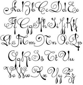 292x300 Best Ideas Of 25 Hand Drawn Fonts On Pinterest Cute How