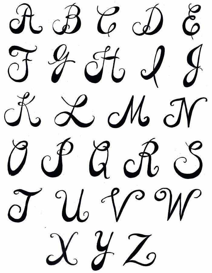 700x900 Letter Fonts Pamela39s Parasols Lettering And