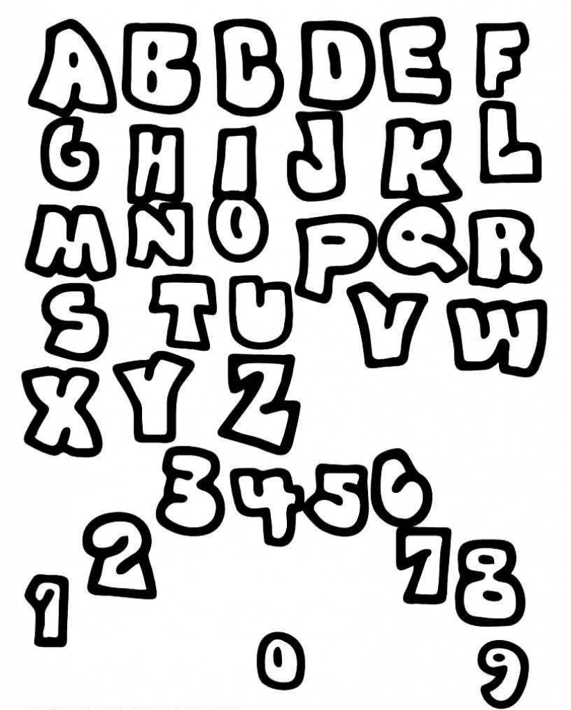 824x1024 Different Font Styles From A To Z Lettering