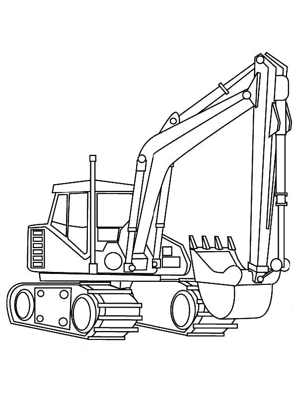 600x800 Digger Coloring Pages