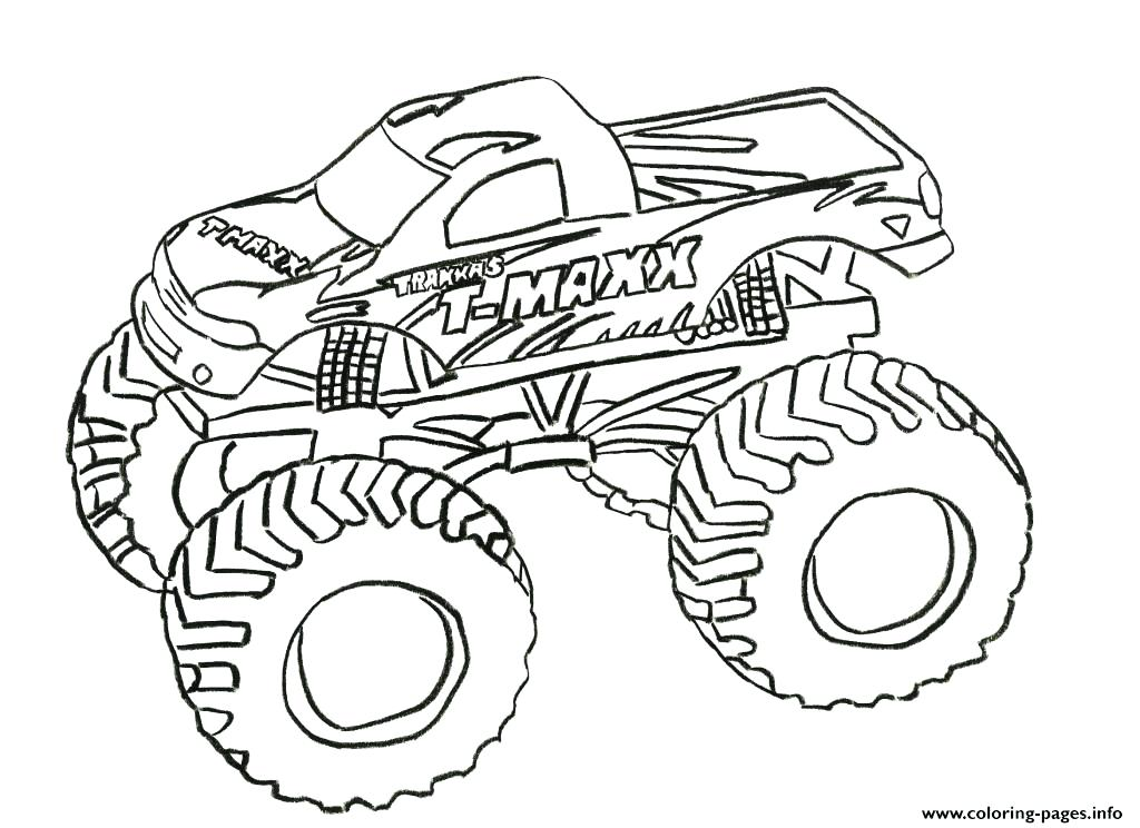 1024x744 Monster Truck Grave Digger Coloring Plus Grave Digger Monster