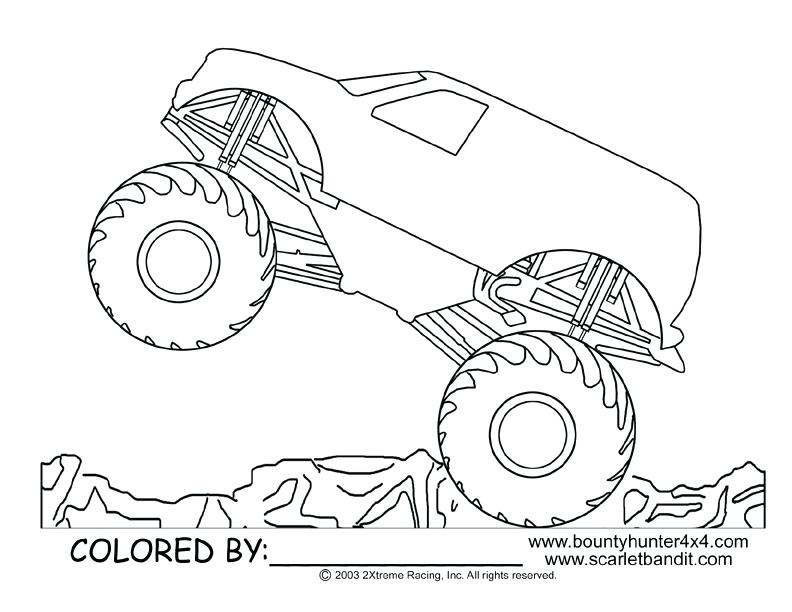 792x612 New Coloring Pages Monster Truck Crayola Photo Grave Digger Page