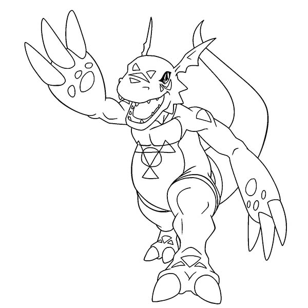 Digimon Drawing at GetDrawings