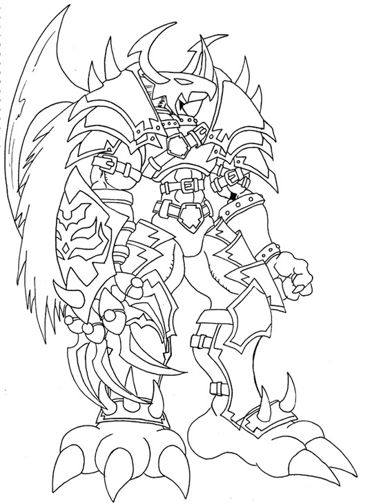 536x731 Digimon Lineart By Alexiszappyron Lineart Digimon