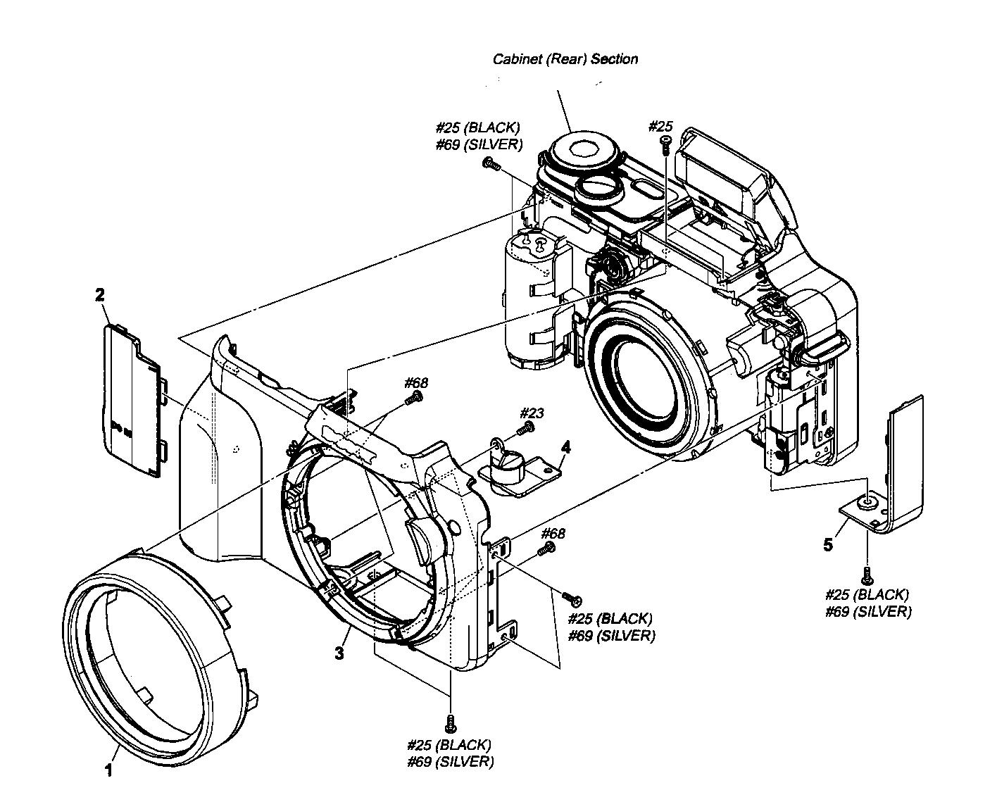 1416x1139 Sony Digital Camera Parts Model Dsch3 Sears Partsdirect