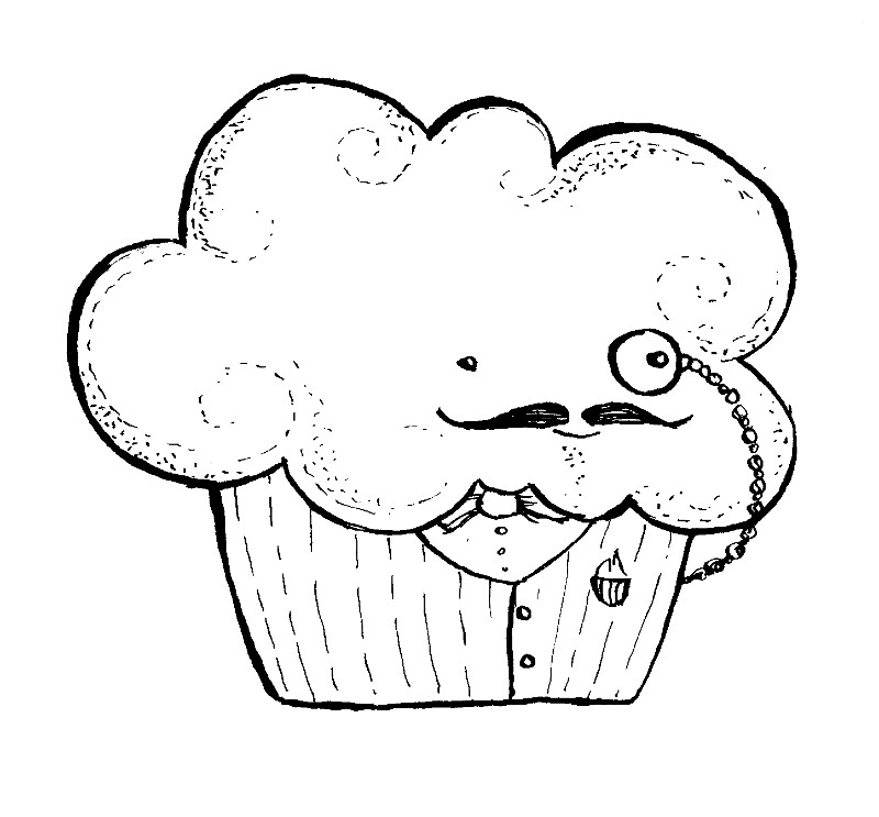 800x743 Key To My Heart And Cupcake Like A Sir Free Digital Stamps