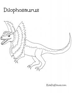 232x300 Dinosaur Coloring Pages