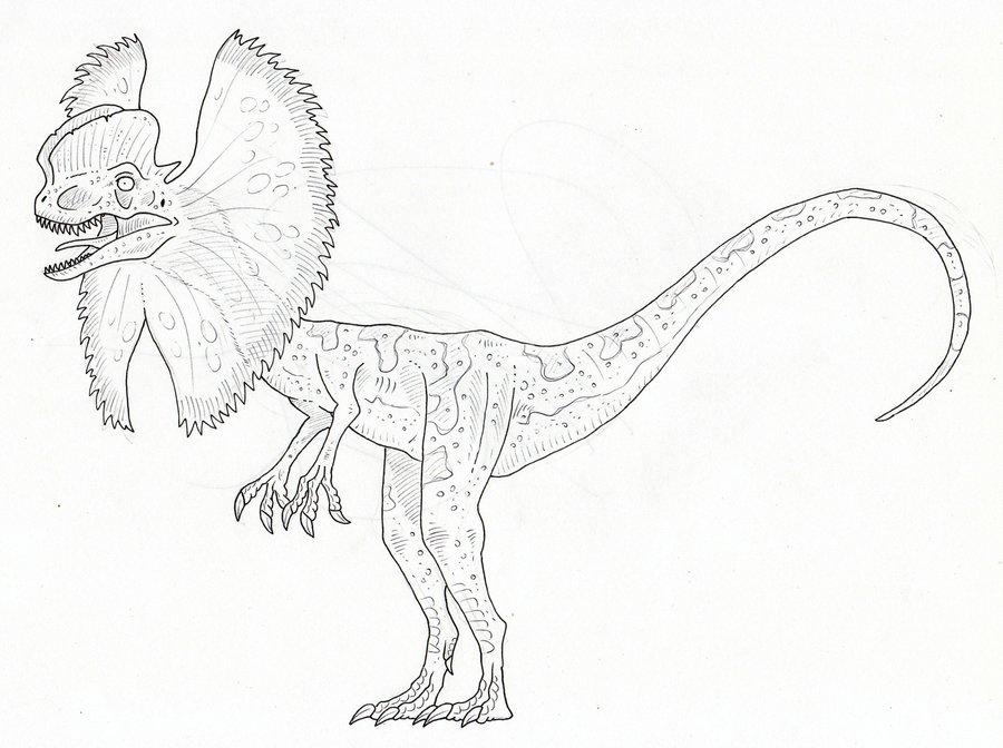 900x672 Jurassic Park Dilophosaurus By SommoDracorex On DeviantArt