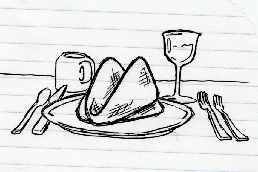 864x576 Dinner Doodle A Day