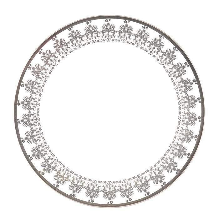700x704 Entomo Platinum 10 Dinner Plate The New English