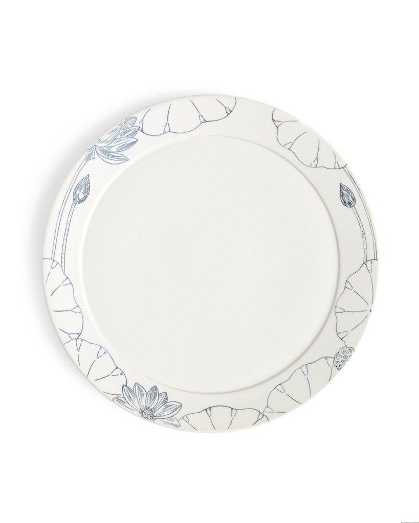 819x1024 Hand Painted Porcelain Dinner Plate Nalata Nalata
