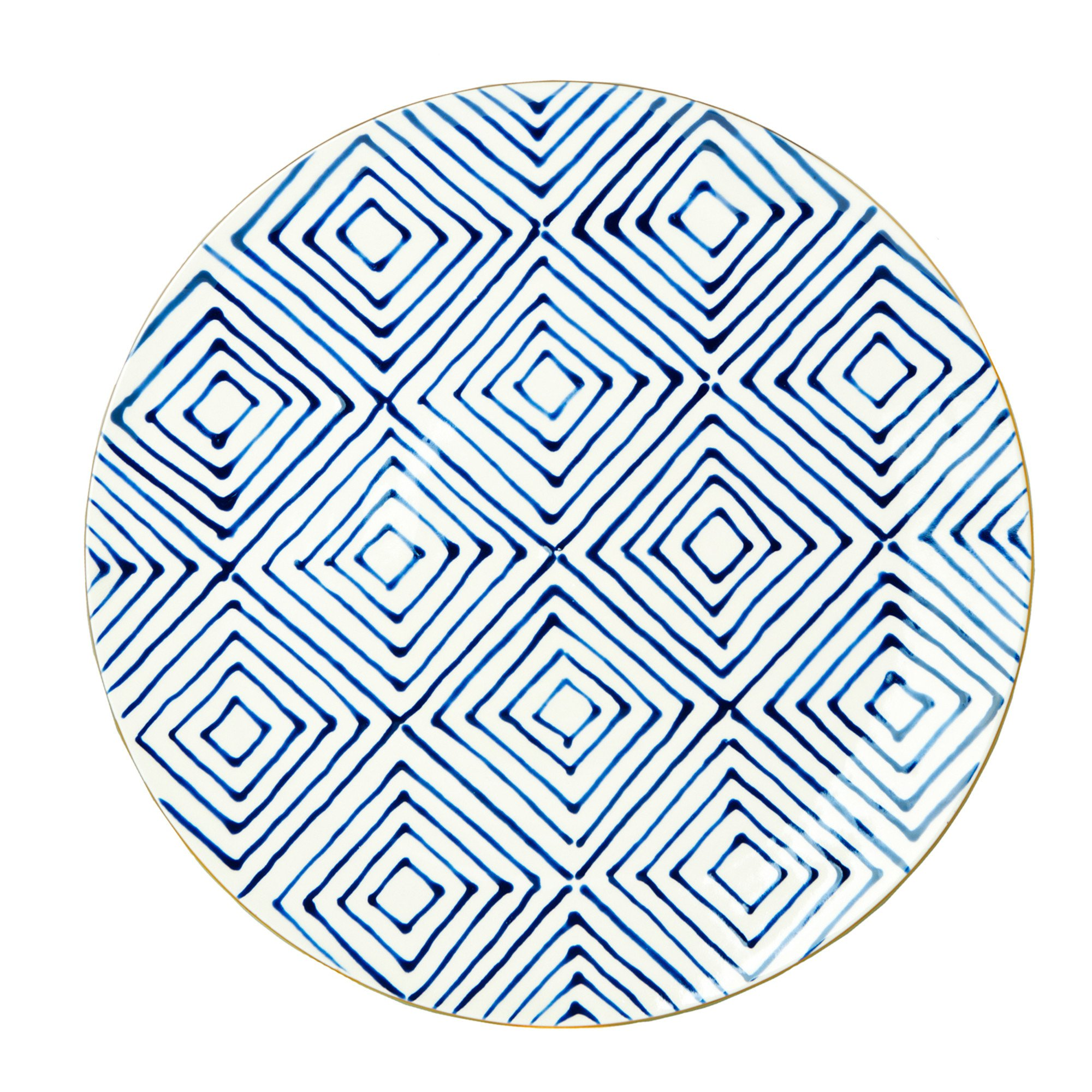 2000x2000 Pencil Amp Paper Co. Geo Dinner Plate
