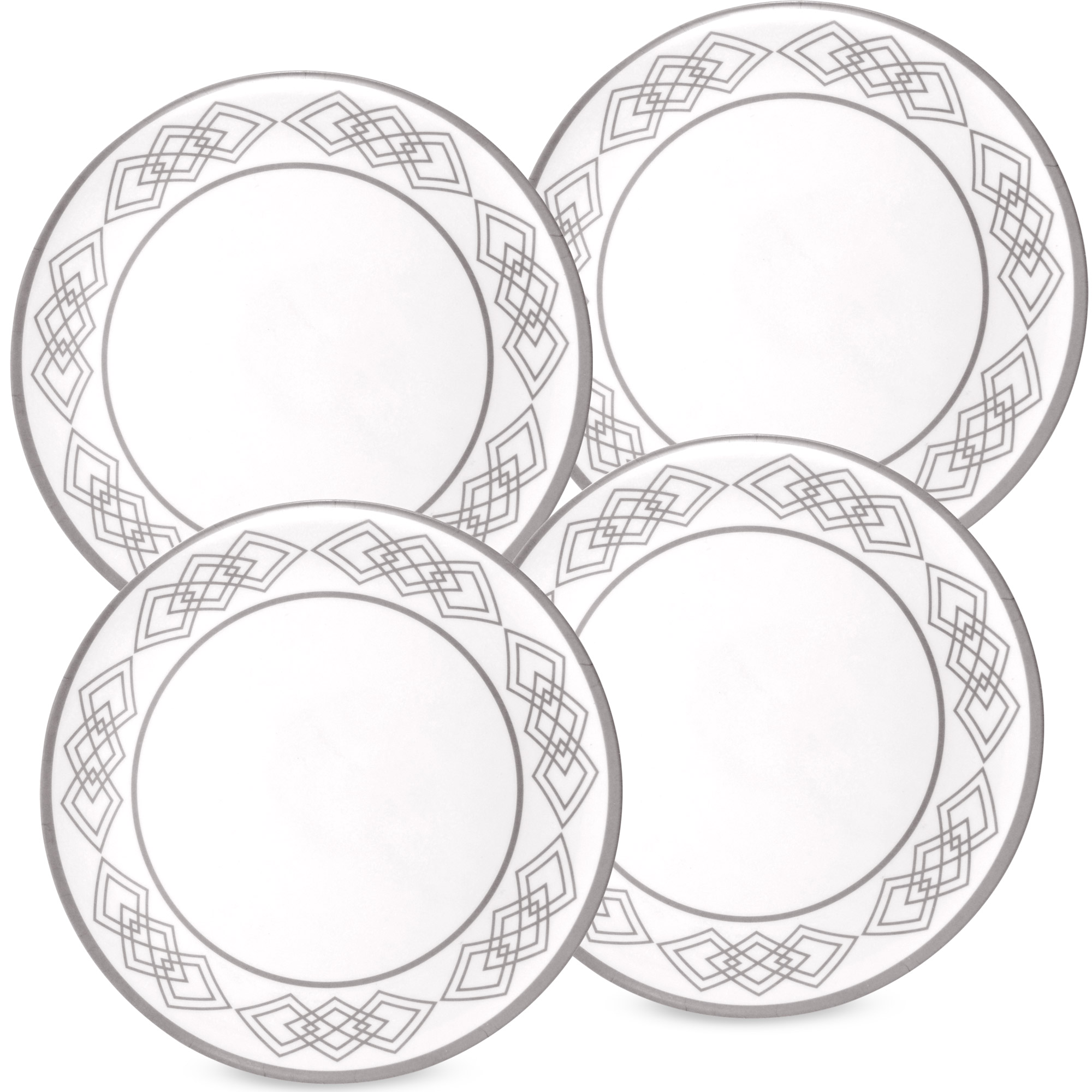 2000x2000 Slique Melamine Round 16pc Dinnerware Set