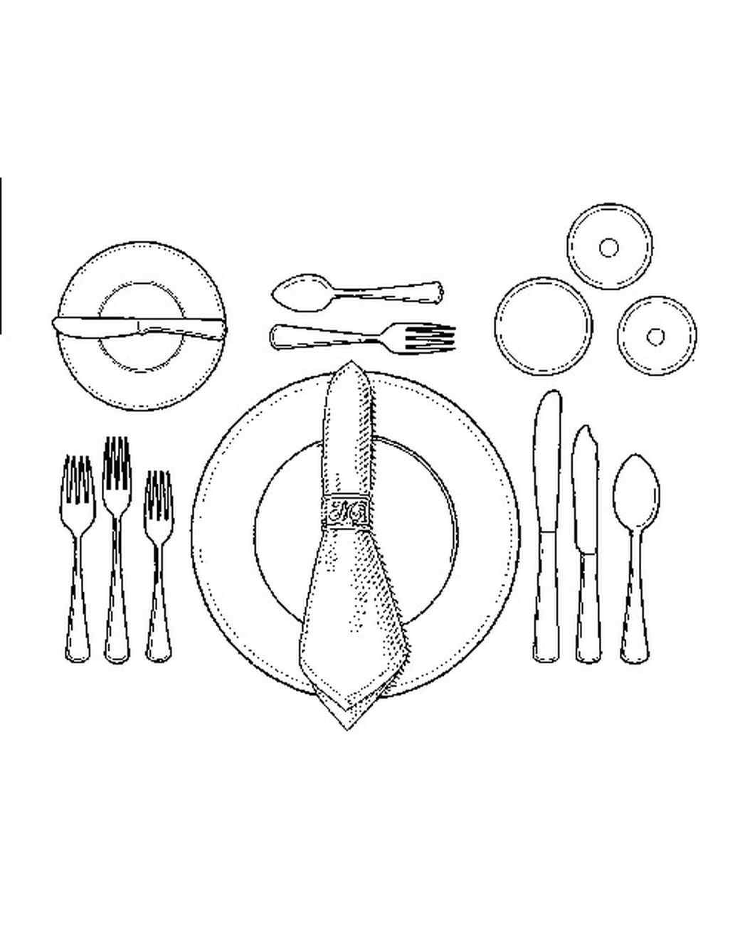 1040x1300 How To Set A Formal Dinner Table Table Settings, Traditional