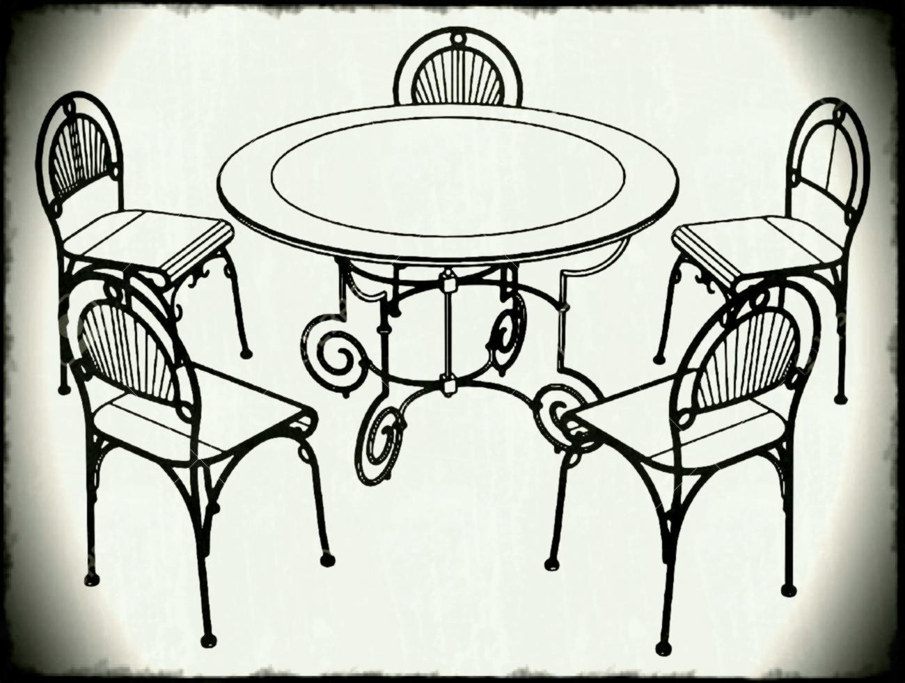 1300x981 Table Clipart Black And White Dinner Sorahanafo Images Dining