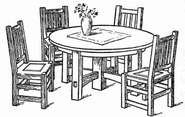 600x380 Table Drawing