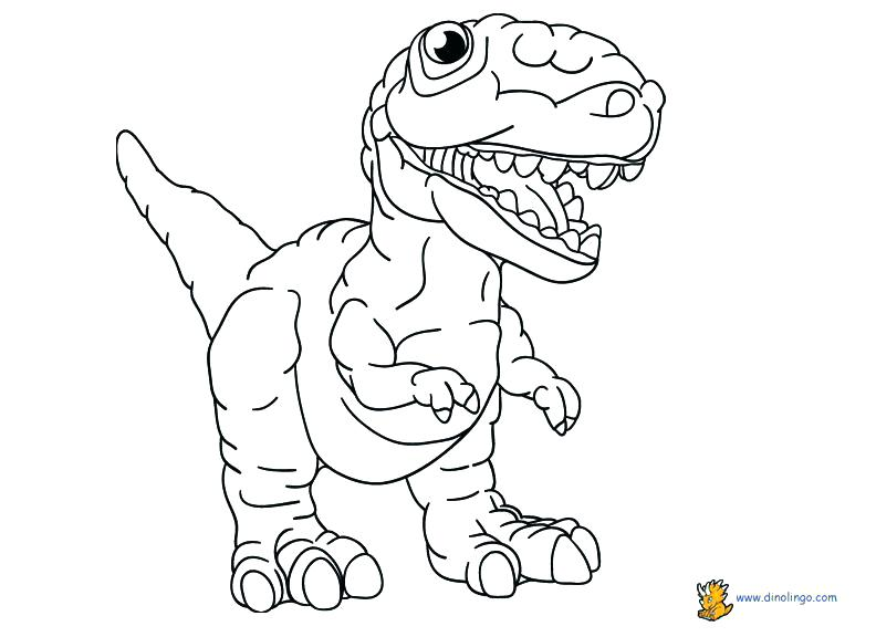 Dino Drawing at GetDrawings Free for personal use