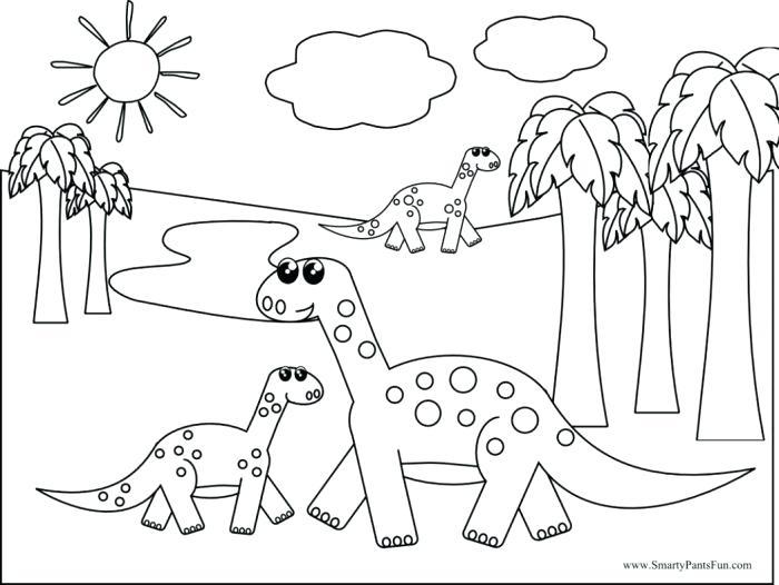 700x526 Dinosaur Valentine Coloring Pages Dinosaur Bones Printable