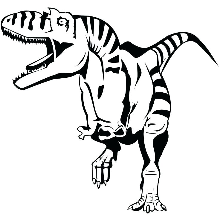 736x736 Free Coloring Pages Dinosaurs Scary Dinosaur Coloring Pages