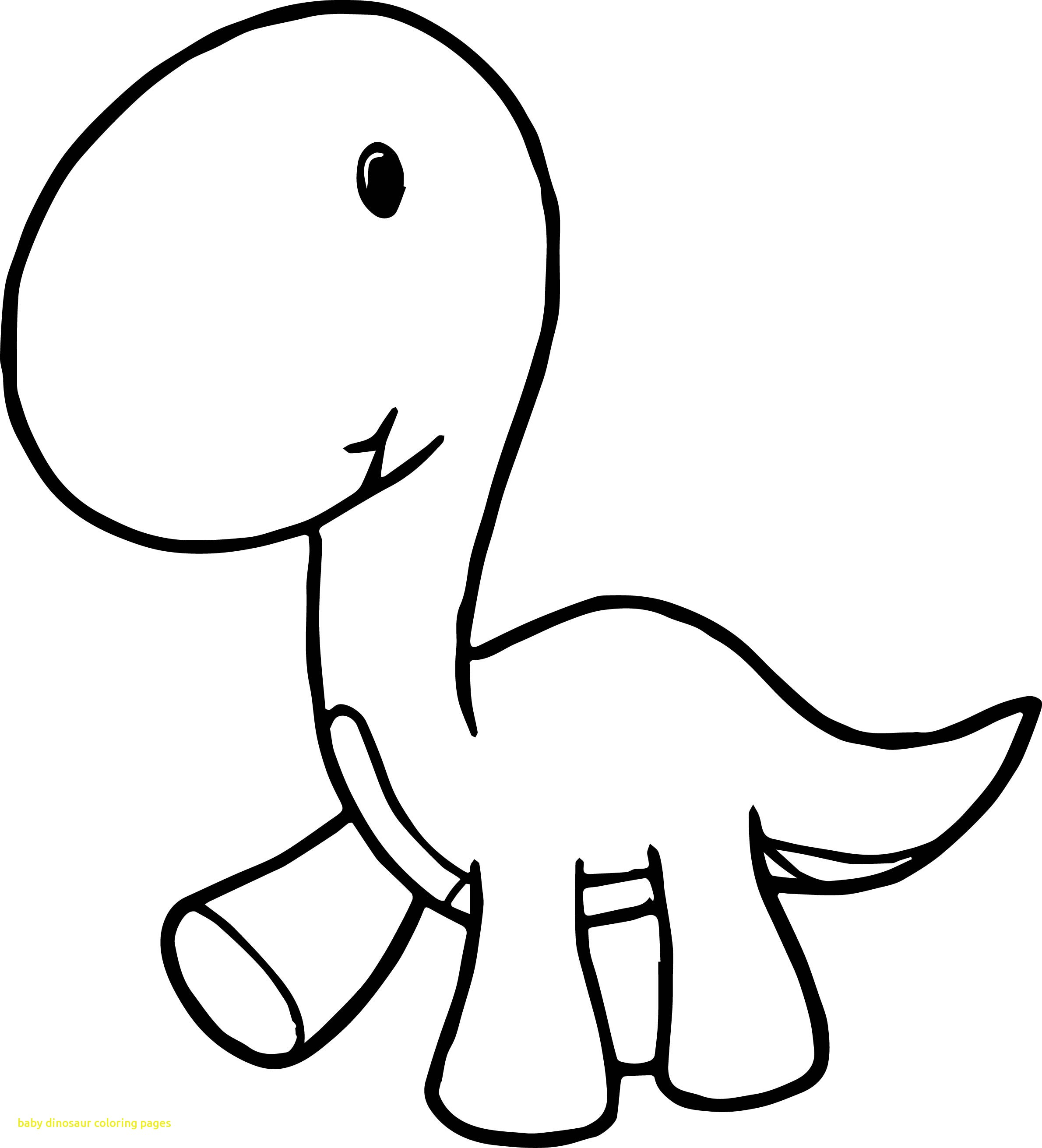 Dinosaur Cartoon Drawing