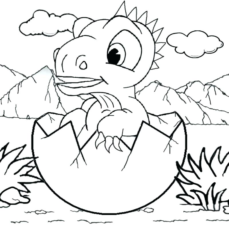 800x800 Dinosaur Coloring Pages Coloring Pages Of Dinosaurs Drawing Kids