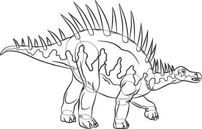 Dinosaur Drawing