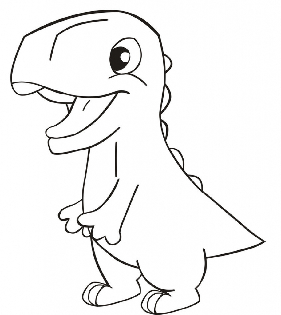914x1024 Dinosaur Pictures For Drawing Drawing Of A Dinosaur