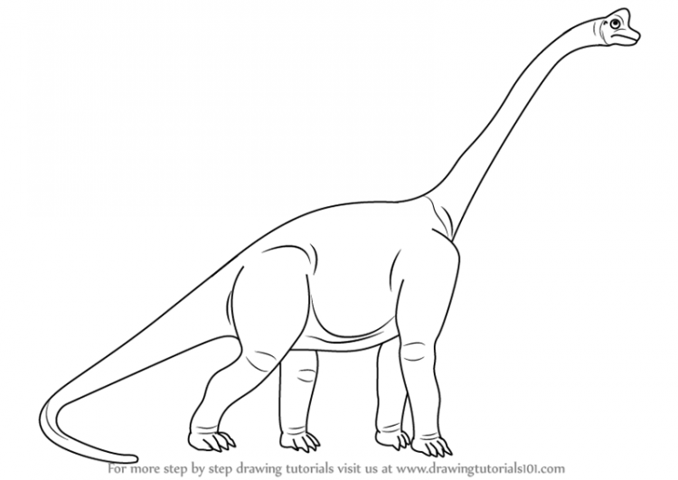 750x531 Drawing Cartoon Dinosaur Drawing Tutorial As Well As T Rex